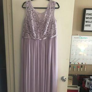 Long dress (plus size)